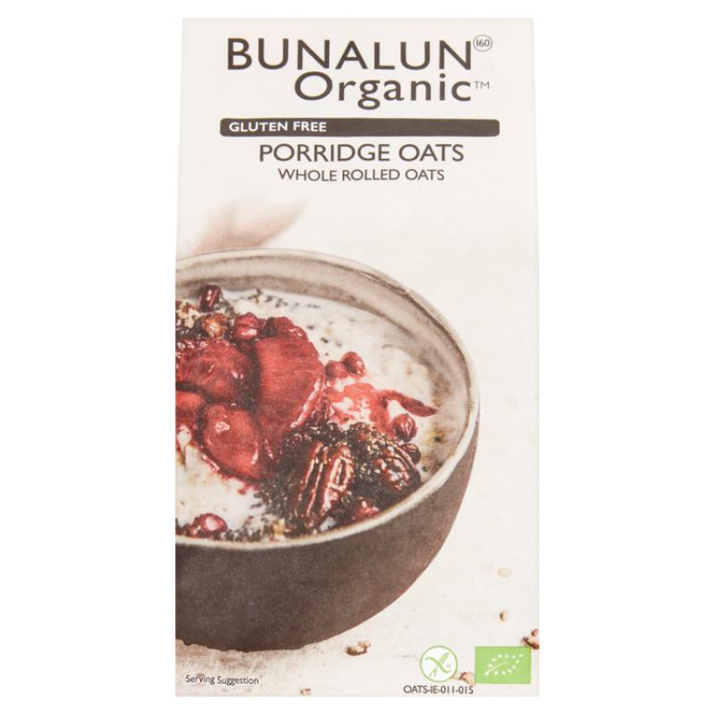 Bunalun Porridge Oats (Gluten Free) 500g Irealnd