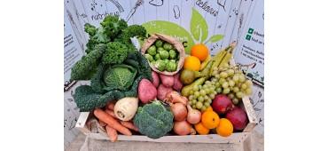 '50/50' Veg Box (Half Fruit & Half Veg)