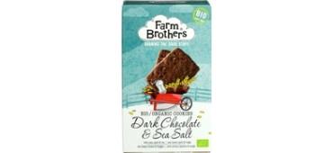 Dark Chocolate & Sea Salt Cookies (150g)